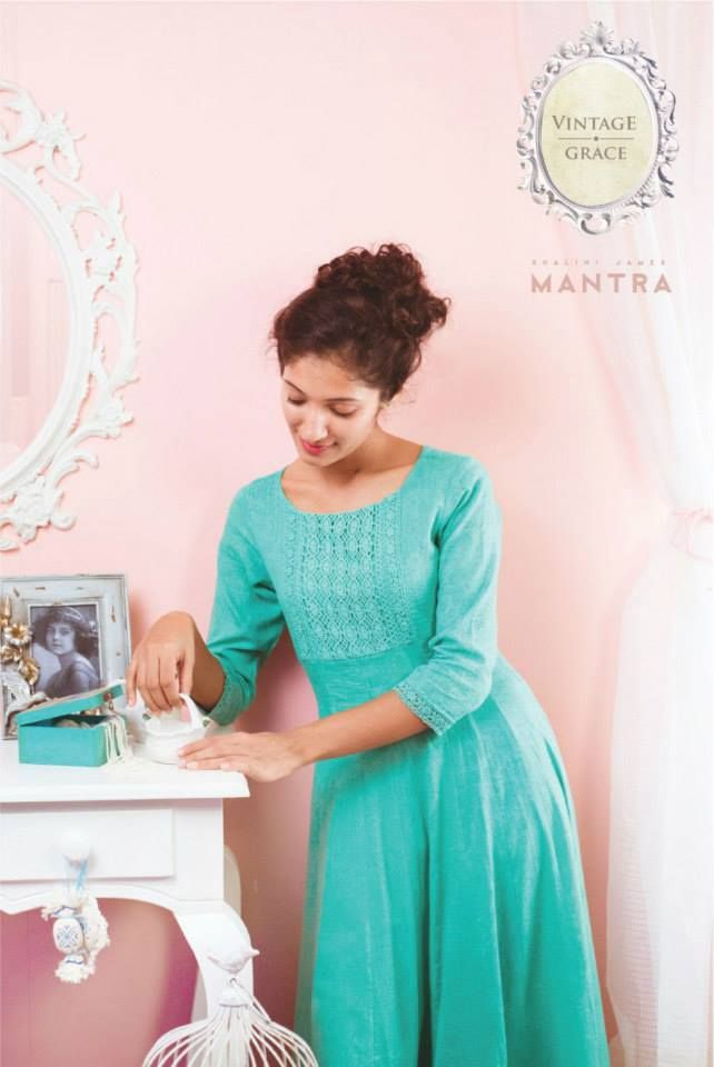 Shop for Mint green anarkali at http://bit.ly/1DpOMMl