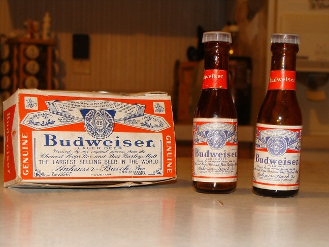 Budweiser Glass Bottle