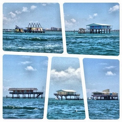 45 Best Images About Stiltsville Over Water Homes In Miami