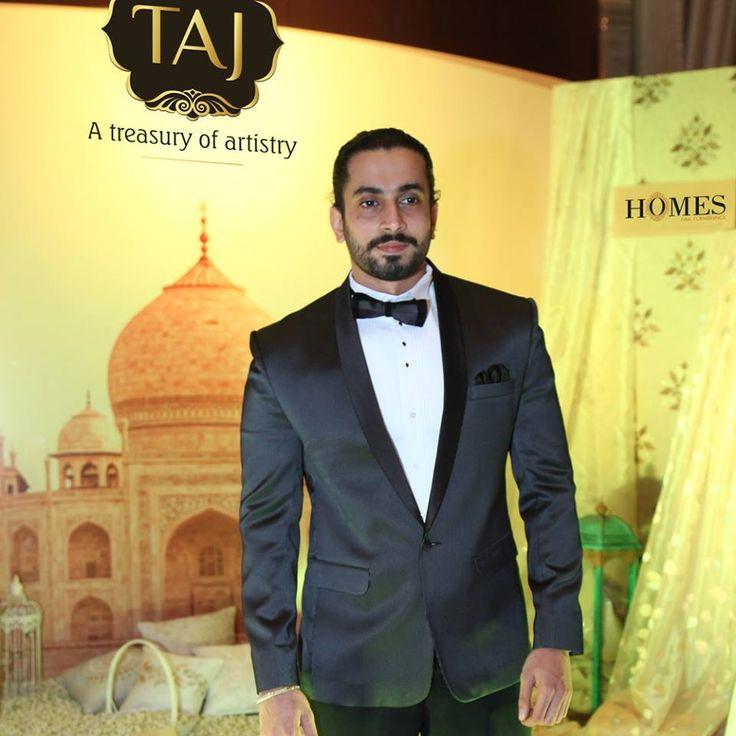 Actor Sunny Nijar at Taj Santacruz #TajCollection #LaunchParty #HomesFurnishings #HomeDecor #HomeFabricCollection #SunnySinghNijar #BollywoodActor