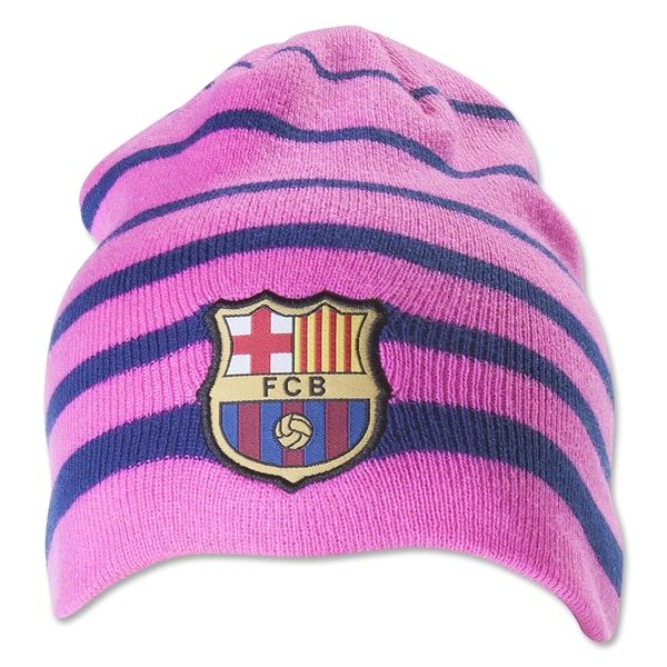FCバルセロナ ネオン ビーニー 帽子