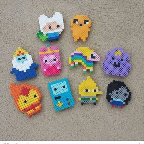 Adventure Time hama beads by  thecreativity03