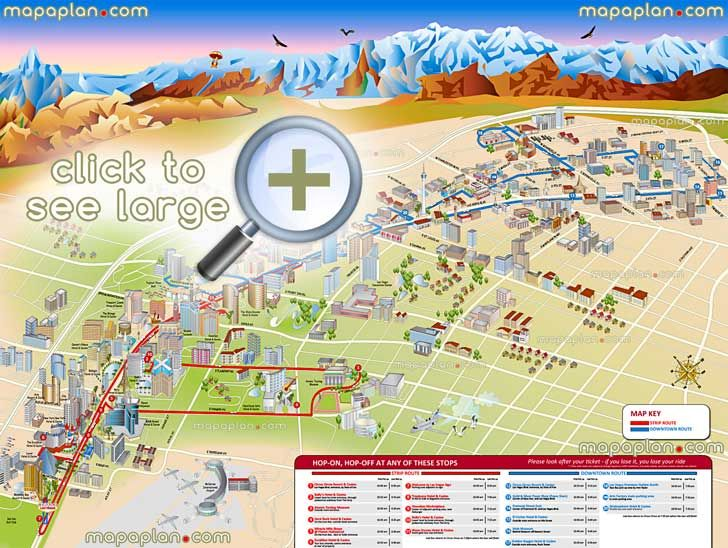 Golden nugget las vegas casino map