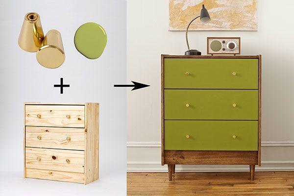 IKEA Kommode: Ein Stück, fünf Möglichkeiten