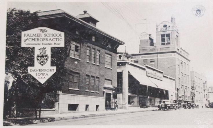 Palmer School of Chiropractic, Davenport, IA; source: New Beginnings Chiropractic Historical Site