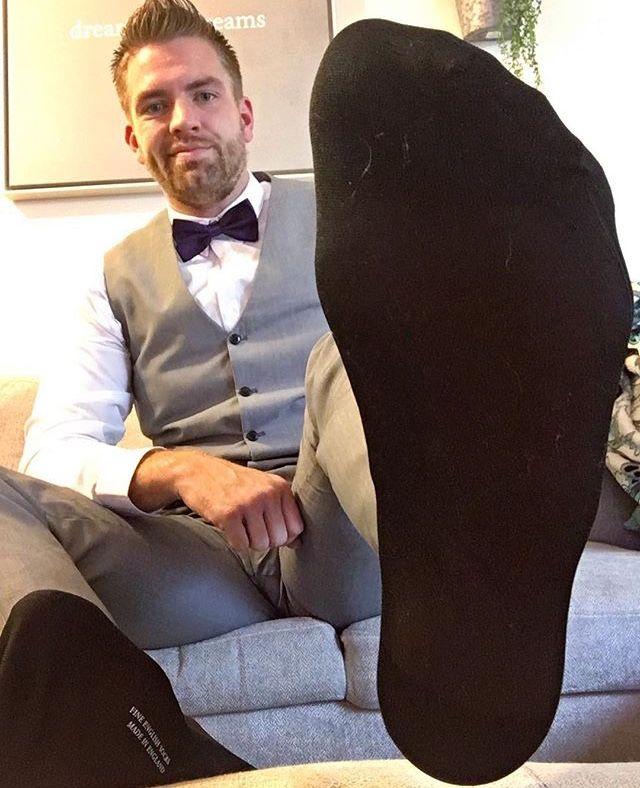 Pin By William Orr On Sexxy Man Foot Socks Dress Socks