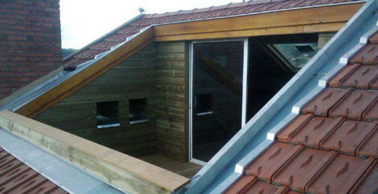 roof loft conversion balcony - Google Search