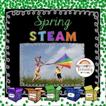 Spring STEM/STEAM by Rainbow City Learning | Teachers Pay Teachers