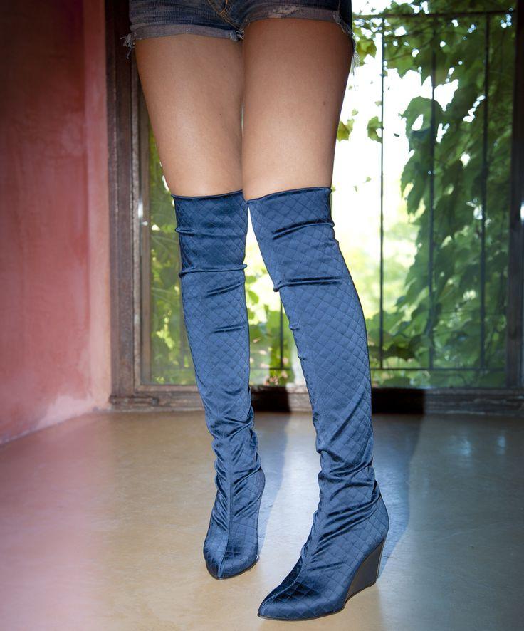 bootsvelvetelastic