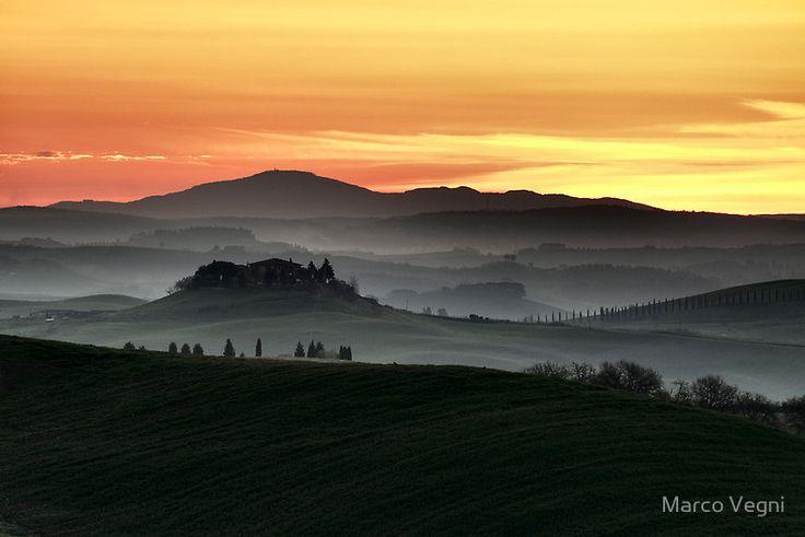 Corsanello by Marco Vegni --    Corsanello near Ville di Corsano, Siena. Tuscany, Italy.