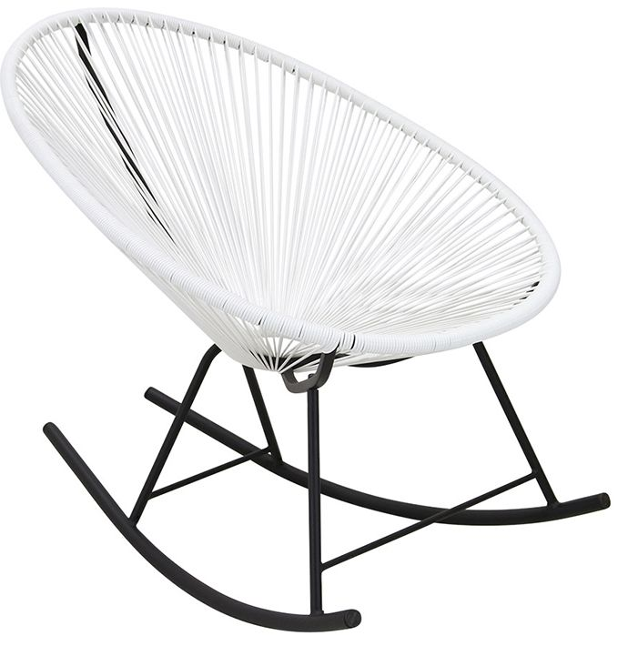 Replica Acapulco Outdoor Rocking Chair - Matt Blatt