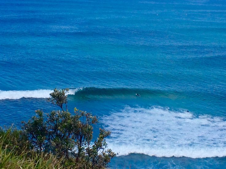 View above surf check.