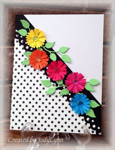 Not Exactly Wallflowers by jodylb - Cards and Paper Crafts at Splitcoaststampers. such a pretty card!