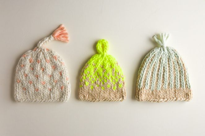 Trio of Colorwork Hats   | Knitting Pattern by Purl Soho