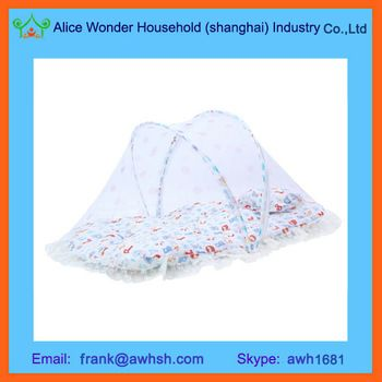 Folding Portable Baby Bed Mosquito Net Infant Sleeper With Mosquito Net