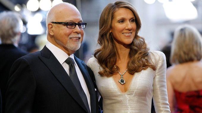Singer Celine Dion and her husband Rene Angelil pictured in 2011