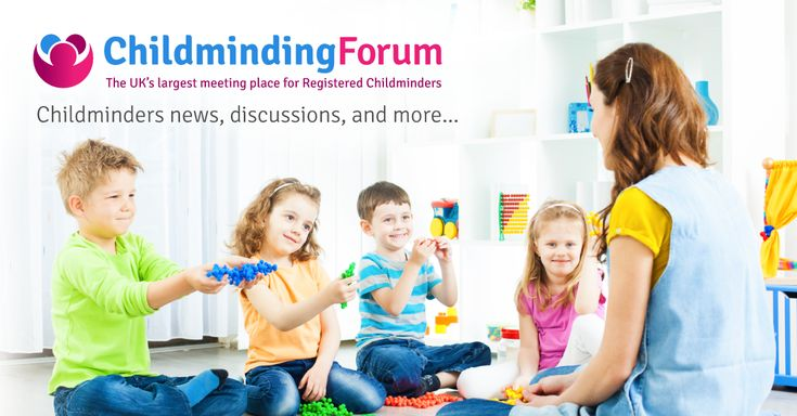 The UK's largest online forum for Registered Childminders. Free Childminding Resources, help and Childminding discussions for Registered Childminders.