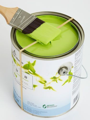 A clean way to tackle DIY painting projects.