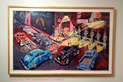 CHICANO ART MOVEMENT: CHICANO ART MOVEMENT attends: Frank Romero ...