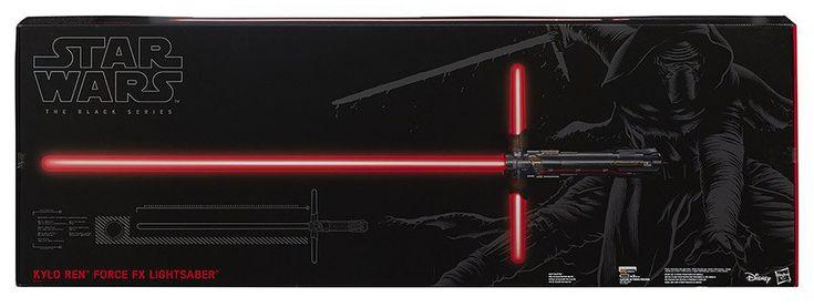 Kylo Ren Force FX Lightsaber Prop Replica | Star Wars Episode VII: The Force Awakens | Popcultcha