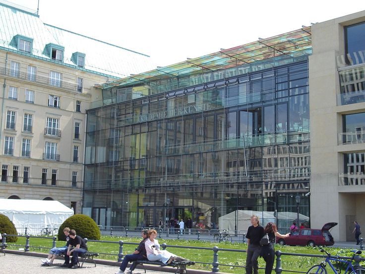Berlin Akademie der Kuenste Unter den Linden Linden