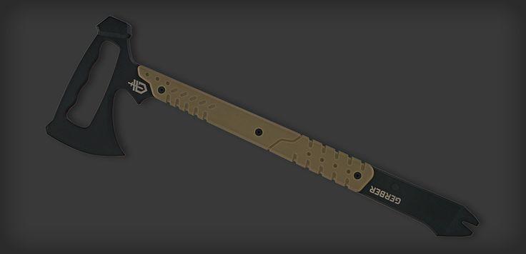 Gerber Downrange-Tomahawk axe and pry bar