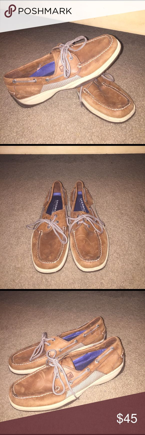 Mens sperry size: 10 Mens sperry boat shoe. In good condition. Sperry Top-Sider Shoes Boat Shoes
