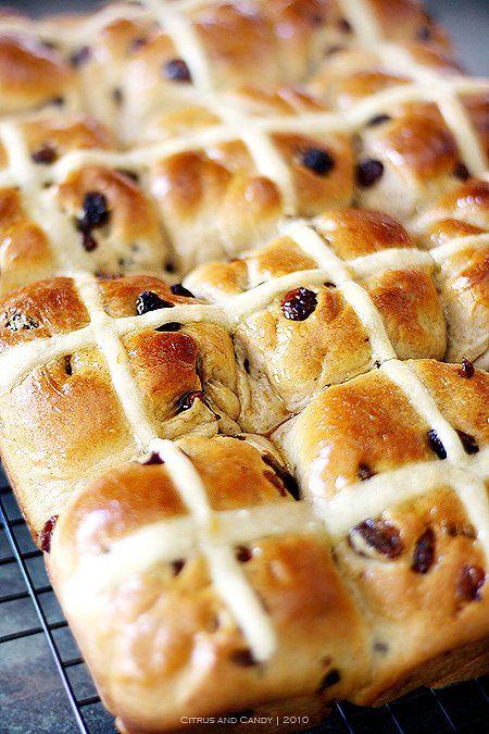 Easter Hot Cross Buns Recipe
