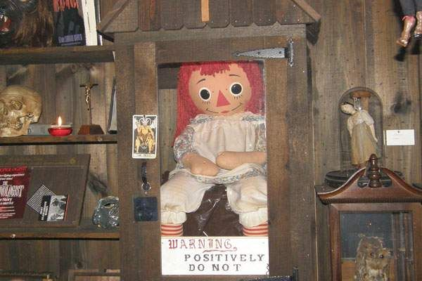 Muñeca Annabelle verdadera