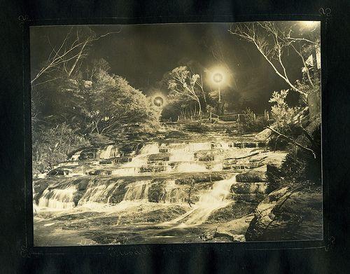 Floodlit Leura Cascades, Harry Phillips