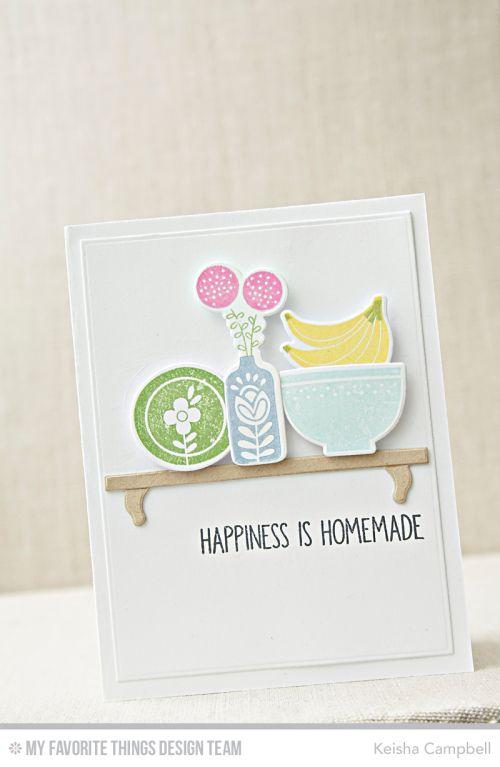 Kitschy Kitchen Card Kit - Keisha Campbell #mftstamps