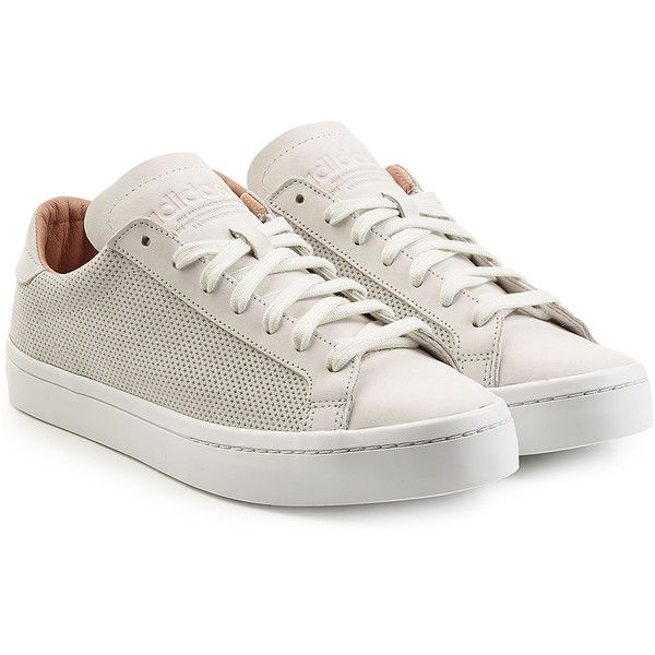 adidas Court Vantage shoes beige white