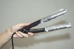 Tratamiento con papel de aluminio, la salvación para cabellos extremadamente maltratados | Mujer Chic