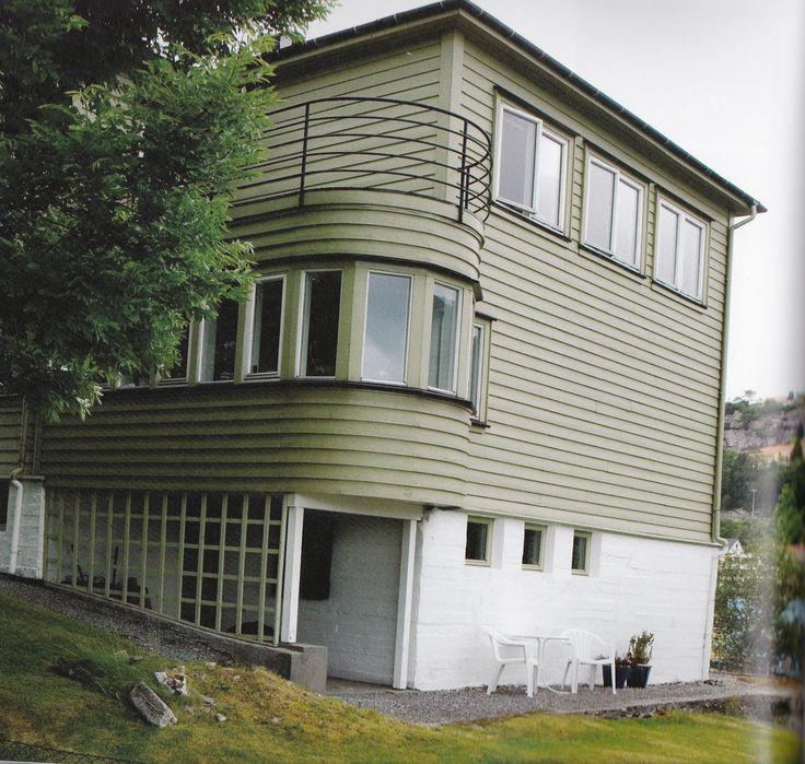 Hegremyrveien 20, Bergen. Leif Grung