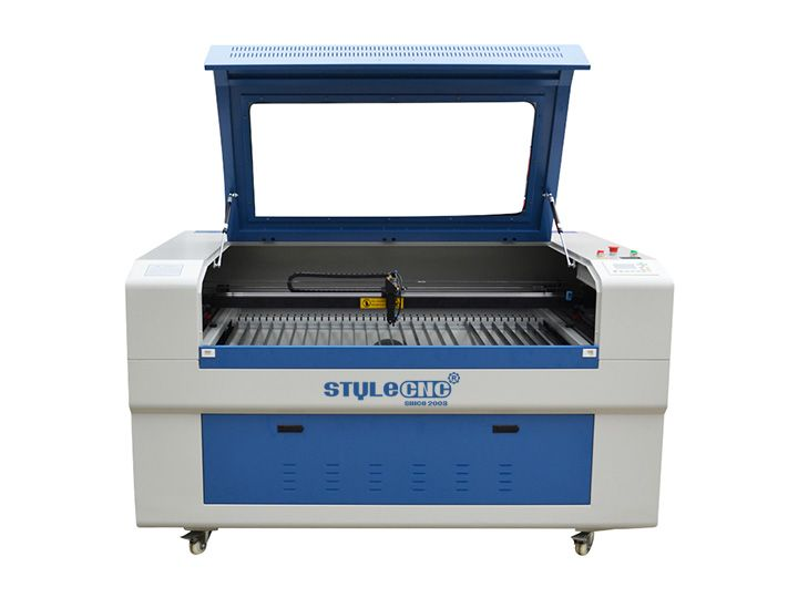 100W CO2 Laser wood cutting machine is designed for wood crafts, arts, gifts and signs, now the laser wood cutter for sale with cost price.