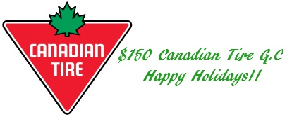 $150 Canadian Tire Gift Certificate US/Can 12/1