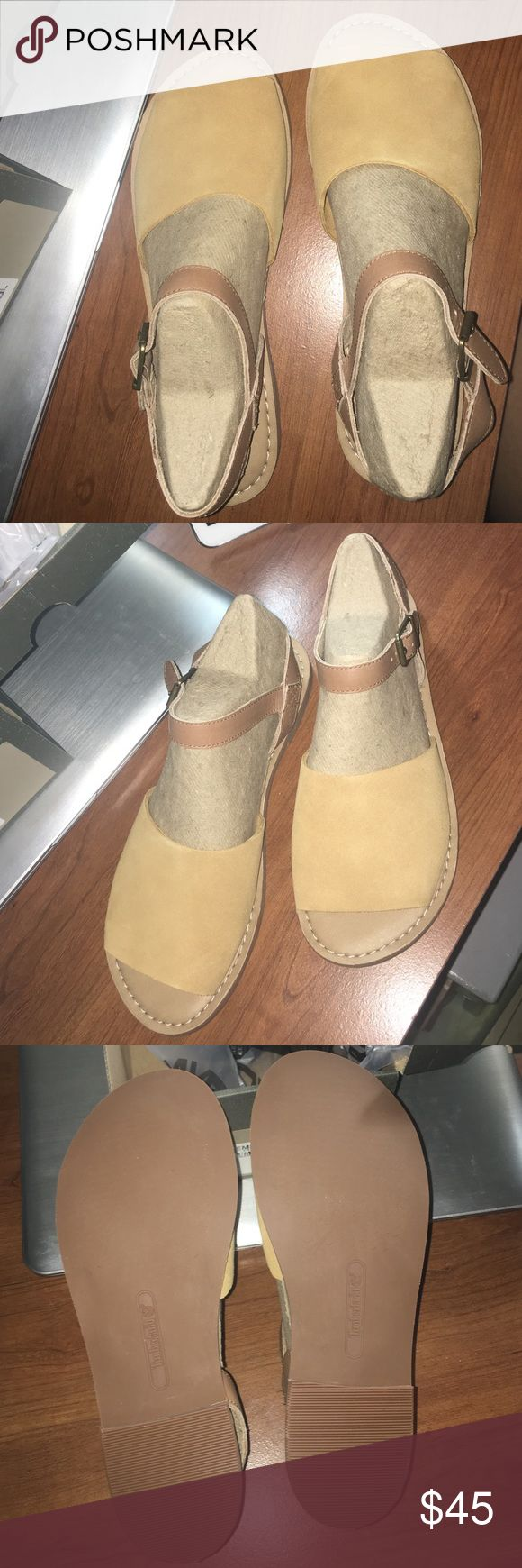 Timberland Sandal Wheat suede timberland sandal. Just bought, never worn. Timberland Shoes Sandals