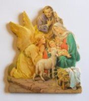 Nativity Wall Plaque.
