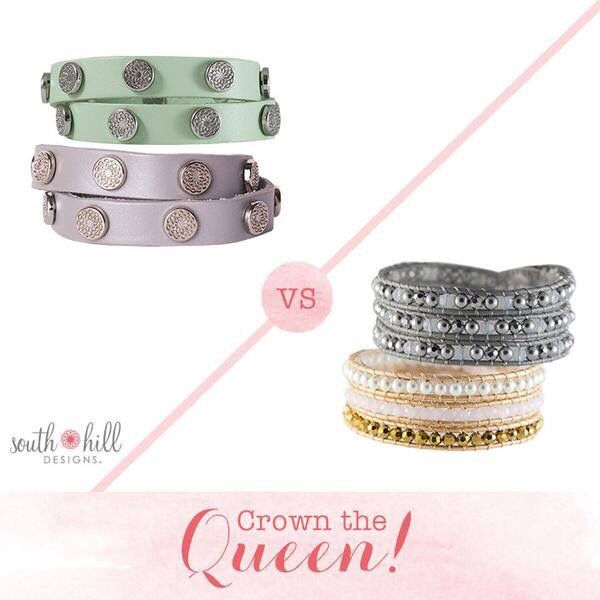 South Hill Designs Studded Wraps VS Beaded Wraps