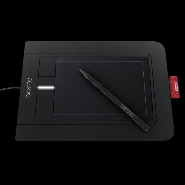 Wacom bamboo pen and touch drawing tablet