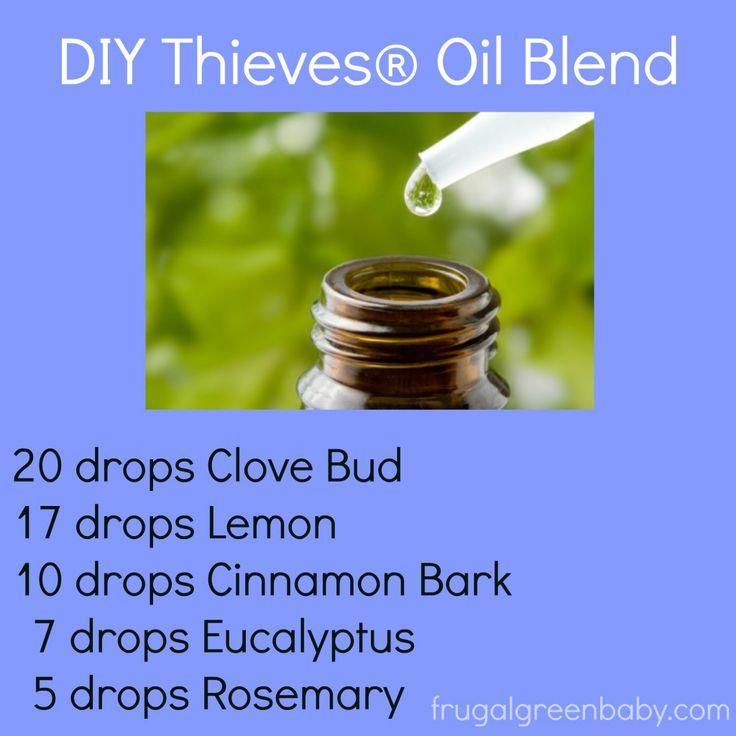 DIY Thieves Oil Blend-