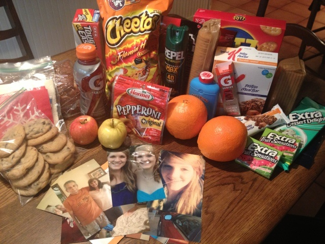 Army Ranger School care package ideas Pearls for Tags -- Women of Army Men: Care Package Time!