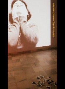 Proyección + Fotografías instántaneas de la sesión fotografica