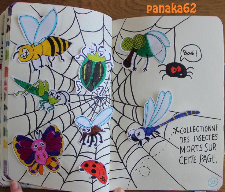 Collectionne les insectes morts sur cette page