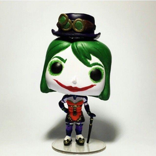The Joker S Daughter Duela Dent Custom Funko Pop