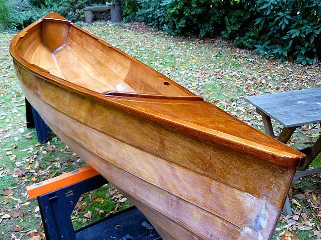 how to build a roots wood canoe