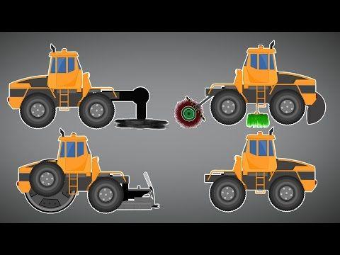 Tree Cutter Truck | Transformer | Videos For Children - YouTube