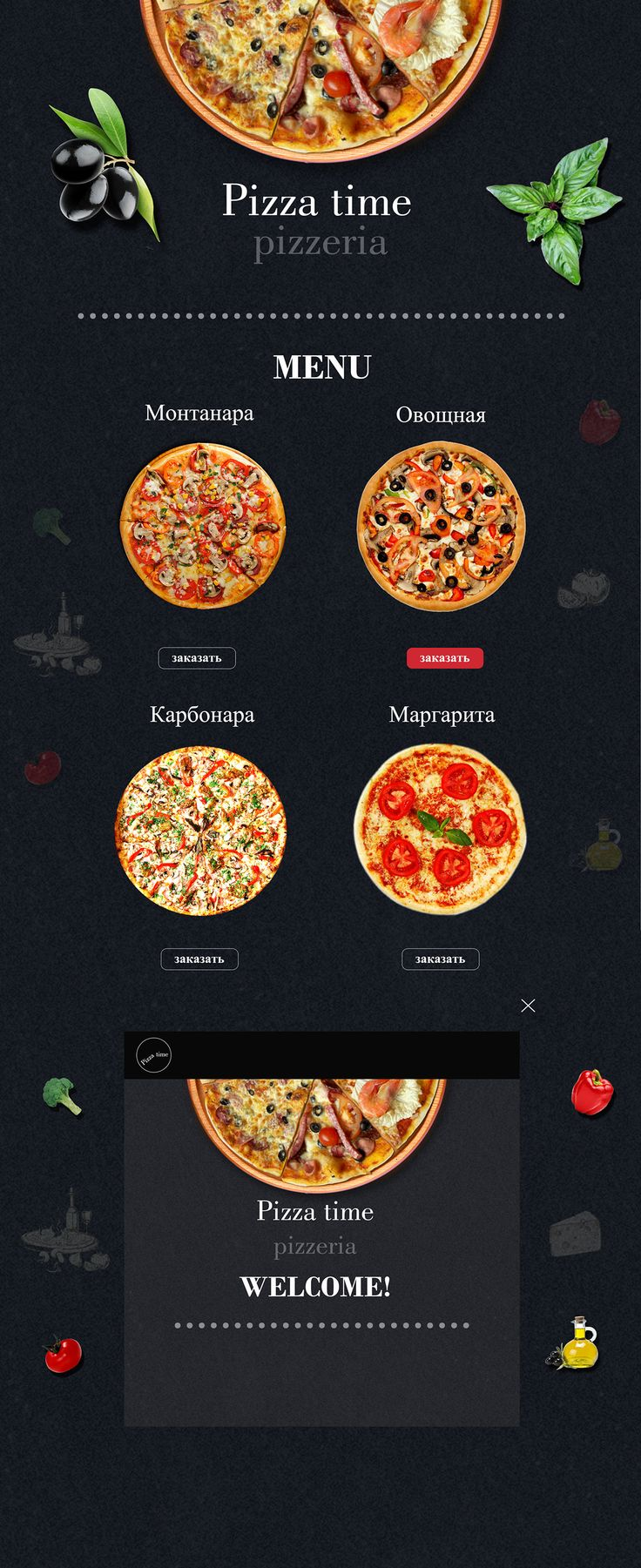 Pizza time on Behance