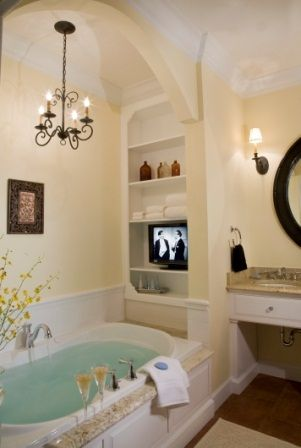 Bathroom in The Mangrove Suite at Port d'Hiver Bed and Breakfast - Melbourne Beach, Florida