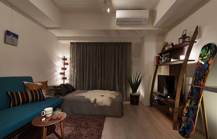 PARK HABIO AZABU MAMIANACHO modelroom A1 type